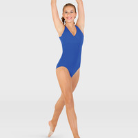Free Shipping - Mock Halter Leotard by CAPEZIO