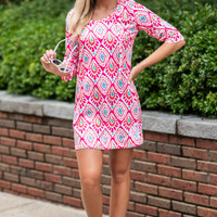 Bright Love Tunic, Paisley Passion
