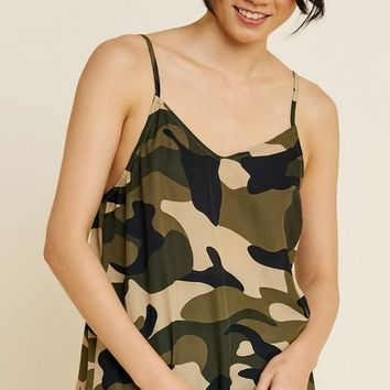 Camouflage Cami