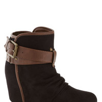 Buckled Up With Style Bootie | Mod Retro Vintage Boots | ModCloth.com