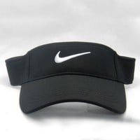 DCCKB62 Nike Fashion Casual Outdoor Running Cap Cool Unisex Baseball Cap Hat Black G