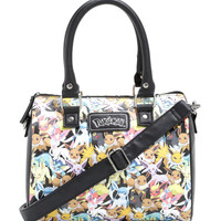 Pokémon Eevee Evolutions Print Crossbody Satchel Bag