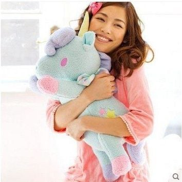 55cm kawaii big size Unicorn plush toys Soft stuffed dolls kids toys christmas gift