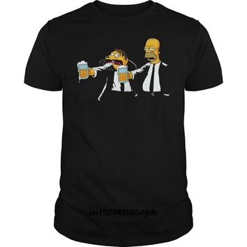 Gildan T Shirt 2018 Fashion Men T Shirt Gildan Pulp Simpson Colour