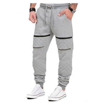 Brand Clothing Men Pants Hip Hop Harem Joggers Pants 2017 Male Drawstring Trousers Mens Joggers Solid Pants Sweatpants 2J0053