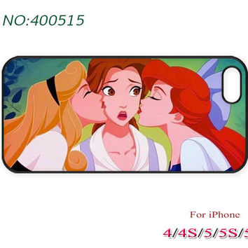 Disney princess iPhone 4/4S Case, iPhone 5 Case, iPhone 5S/5C Case, Phone Cases, The little mermaid, ariel, Phone Case for iPhone-400515