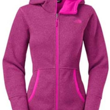 Gliks - The North Face Banderitas Hoodie for Women in Dramatic Plum Heather