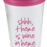 Shhh, there is Wine in Here Tumbler by Aspen Lane