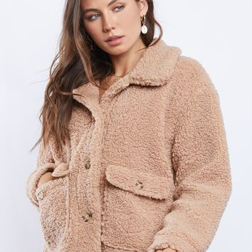 Warm Fuzzies Sherpa Coat