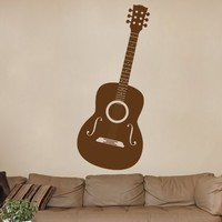 ik796 Wall Decal Sticker guitar music song artist notes chords bedroom teens