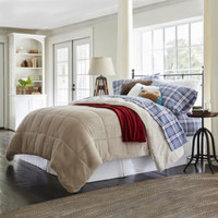 JCPenney Home™ Ultra Mink Faux-Fur and Sherpa Comforter
