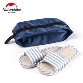 NatureHike Portable Travel Shoes Bags with Zipper Closure