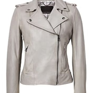 Leather Moto Jacket|banana-republic