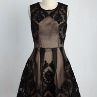 Cultural District Date Lace Dress | Mod Retro Vintage Dresses | ModCloth.com