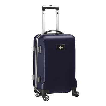 New Orleans Saints  20'' Hardcase Luggage Carry-on Spinner-Navy