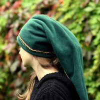 Green Link hat - Legend of Zelda hat - hippie hat - elven hat - pointy hat