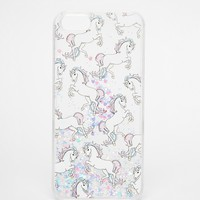 Skinny Dip iPhone 5 Unicorn Liquid Glitter Case