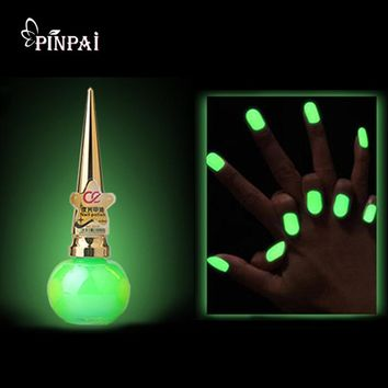 Glow in the Dark Paint Nail Polish for Halloween Nail Art Decoration Gel Nail Stamping Fluorescente Luminous Nailpolish Luminous