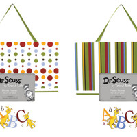 Trend-Lab Kids Toddler Infant Child Newborn Frame Set - Dr. Seuss Abc