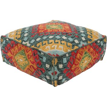 Zagros 24 x 24 x 8 (inches) Pouf