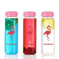 Portable Clear Lemon Juice Infuser Bottles For Sports