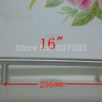 "(Diameter 10mm,Length:400mm) 16""  Furniture Hardware Kitchen Cabinet Handle, Bar Pull Handle Stainless Steel T Handles"