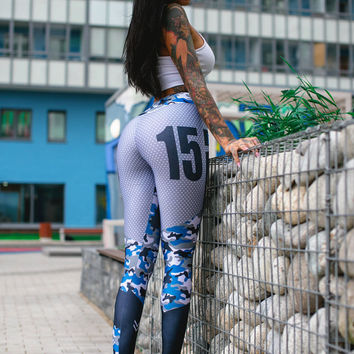 Sports Fashion Stylish Print Pants