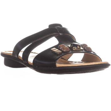 naturalizer Wink Slip On Sequin Slide Sandals, Black, 7.5 US / 37.5 EU