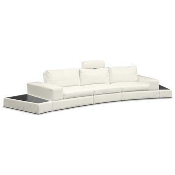Epic Leather 5 Pc. Sectional - Value City Furniture