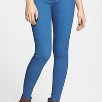 Junior Women's STS Blue High Waist Skinny Jeans (Sterling Bay)