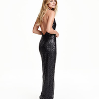 H&M Long Sequined Dress $79.99