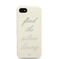 Kate Spade New York - Find the Silver Lining iPhone 5/5s Case - Saks Fifth Avenue Mobile