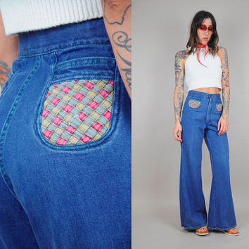 Best 70s Flared Jeans Products on Wanelo