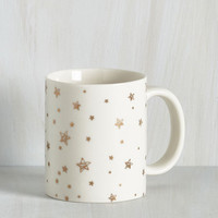 Cosmic Good as Goal Mug by ModCloth
