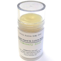 Rosemary Mint Hand & Cuticle Balm, Vegan Lotion