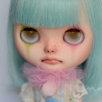 OOAK Custom Blythe doll by Art_emis - Apple