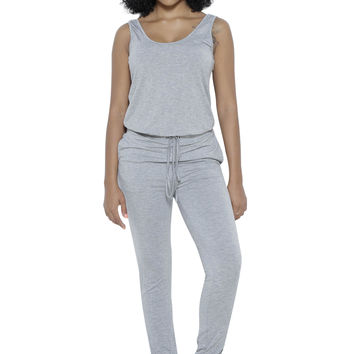 Rochelle Jumpsuit in Grey