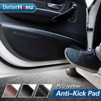Car Door Anti-kick Pad Sticker Ultra-thin leather PVC Door Protection Side Edge Film For BMW E90 F30 F34 F10 Accessories