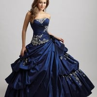 Night Moves Quinceanera Q303 Ball Gown Prom Dress