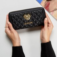 Love Moschino Quilted Purse at asos.com