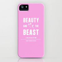 Disney Princesses: Beauty and the Beast Minimalist iPhone Case by Ofalexandra | Society6