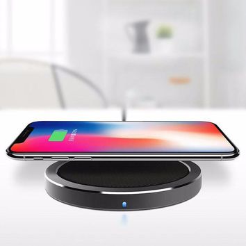 Qi Fast Wireless Charger for Samsung Galaxy Note 8 S8 S7 Edge S6 iPhone 8/ 8 Plus, iPhone X