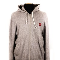 Comme des Garcons Play Grey Hoodie