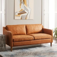 "Hamilton Leather Sofa (68"")"