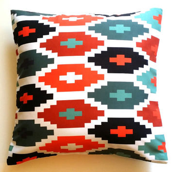 Pillow, Christmas Decor, Aztec Pillow , Accent Pillow, Various Size Pillowcase, Colourful Pillow Cover, Throw Pillow, Toss Pillow