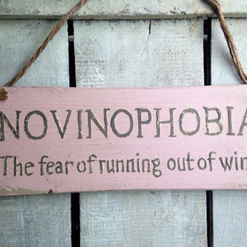 Funny gift. Funny Sign. gift for him. gift for her. Novinophobia.