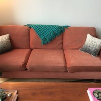 Kasala Couch Sofa  Mid Century Style, Comfy