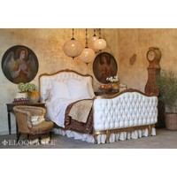 Eloquence Louis XV Corbeille Style Antique Reproduction Sophia Bed