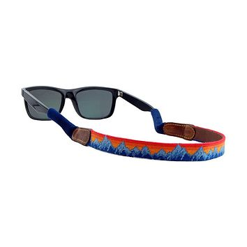 Mountain Sunset Needlepoint Sunglass Straps by Smathers & Branson