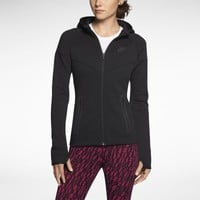 Nike Windrunner Tech Fleece Women's Hoodie - Black